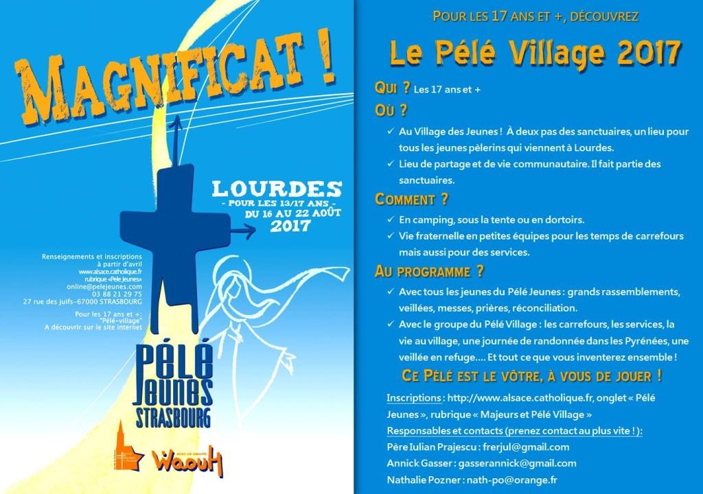 Flyer Pélé Village 2017