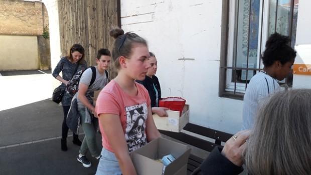 Profession foi visite Caritas