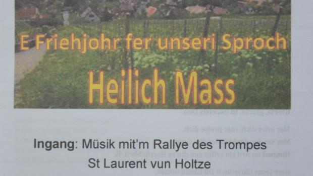 Messe en alsacien 2017 (1)