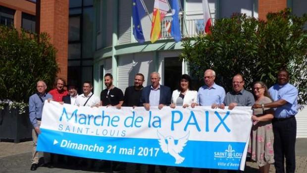 marche pour la paix st louis