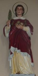 CPBarr église Mittelbergheim statue