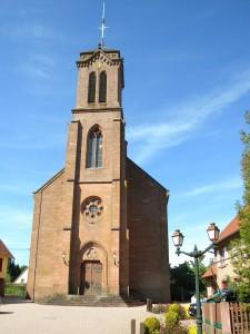 Eglise Catho Wangenbourg