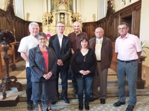 Conseil de Fabrique de l'église de Eglingen