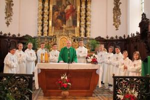Hagenbach - Servants d'autel 2016