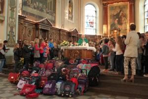 Messe de rentrée 2016 et bénédiction des sacs d'école