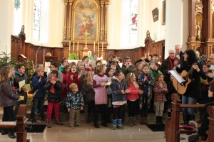 2017-01-15 - Messe des familles à Bernwiller