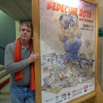 Denis Gerhart, responsable du festival Bédéciné 2015