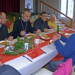 Déjeuner avec l'évêque à Illfurth