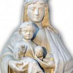 Vierge-à-l'enfant-église-St-Légéer---Koetzingue-68-reduce