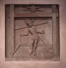 Christ au pressoir - St Nicolas Haguenau