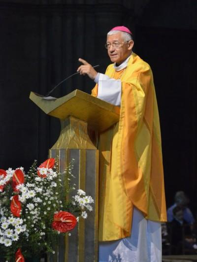 Mgr Ravel Messe Paix