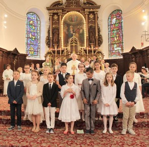 1ère communion 2017