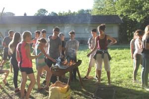 barbecue jeunes