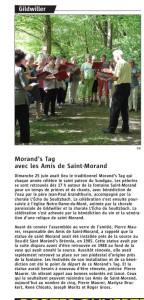 L ALSACE 01-07-2017 - MORAND'STAG