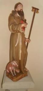 CPBarr église saint-Pierre statue