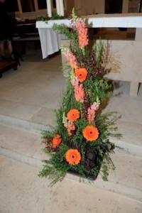 ????????????????????????????????????Exemple d'arrangement floral