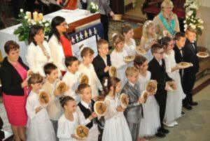 1ère communion 17 juin 2016, église de St Blaise