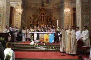 Les chorales et jeunes musiciens réunis pour la Reconnaissance de la communauté de paroisses