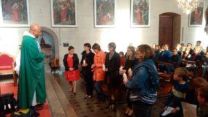 Envoi en mission des cathéchistes, messe de la rentrée le dimanche 15 octobre à Oltingue