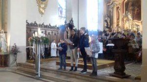 Messe des familles, 1er dimanche de l'avent, église de St Blaise