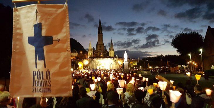 Pélé Lourdes 2017_7b_Procession aux flambeaux