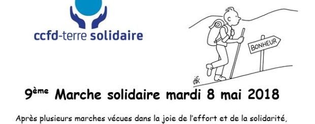 Marche solidaire CCFD