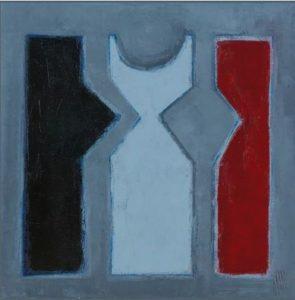 Tableau de Philippe Hillenweck : l'empreinte des rêves
