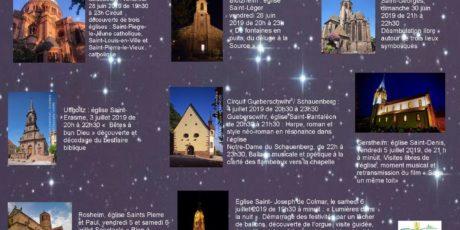 Nuit des eglises 2019 alsace