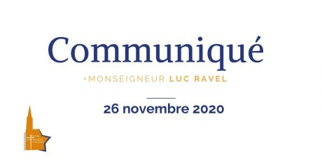 Communique_26nov20-mgr_luc_ravel
