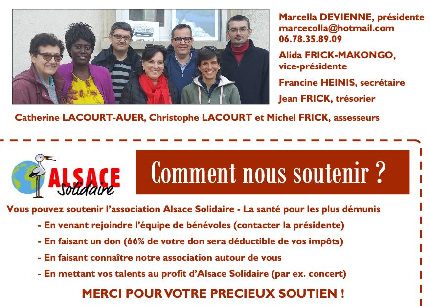 Soutenir Alsace Solidaire