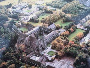 L'abbaye bénédictine de Maredsous, en Belgique
