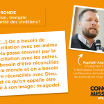 congres mission table ronde Raphael